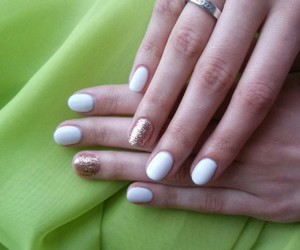 gel, white, and gold image
