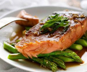 fish, garlic, and salmon image