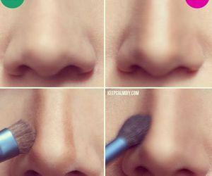 nose, makeup, and make up image