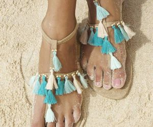fashion, sandals, and cute image