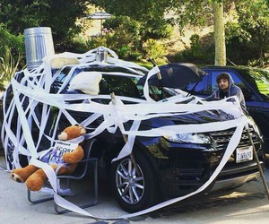 car, louis, and niall image