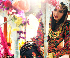 beauty, bride, and india image
