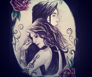 drawing, end of the world, and juliet simms image