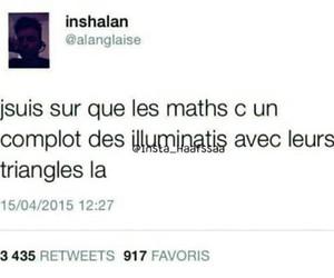 illuminati, maths, and triangle image