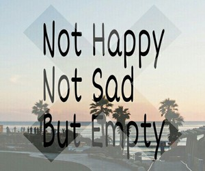 empty and sad image
