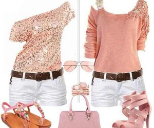 fashion, pink, and party wear image