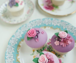 cupcake, food, and cake image