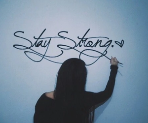 stay strong, demi lovato, and quote image