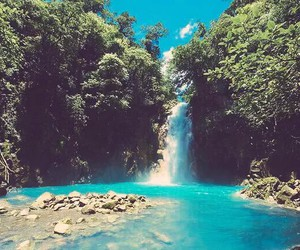 costa rica, summer, and blue image