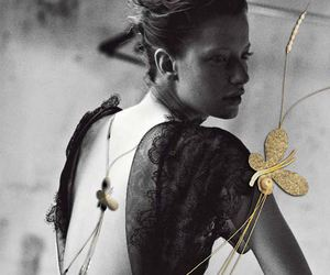 butterfly, necklace, and kosmhmata image