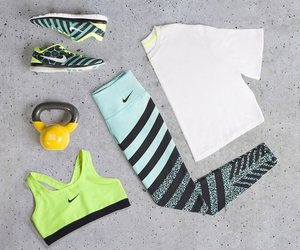 nike and fitness image