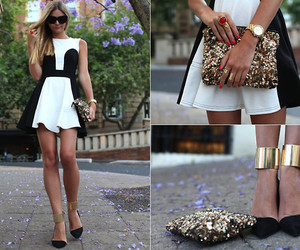 asos, fashion, and black and white image