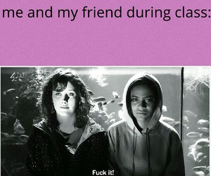 class, exams, and friendship image