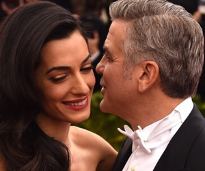 &, couple, and george clooney image