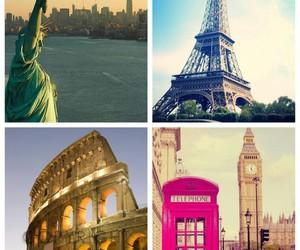 Big Ben, colloseum, and london image