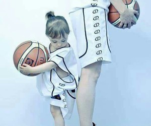 Basketball and ball image