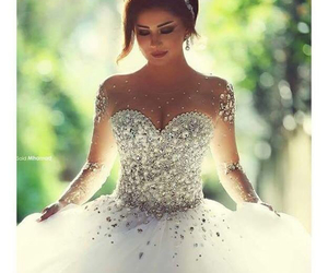 beautiful, dresses, and love image