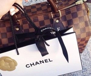 chanel, bag, and Louis Vuitton image