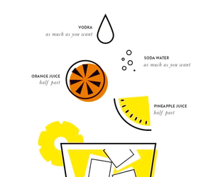 cocktail, summer, and juices image