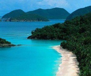 beach, jamaica, and sea image
