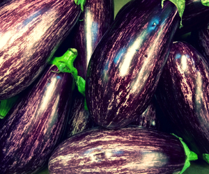 healthyfood, eggplant, and food image