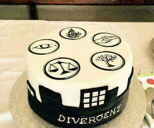 cake, divergent, and faction image