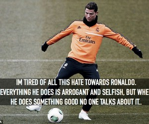cristiano ronaldo, haters, and king image