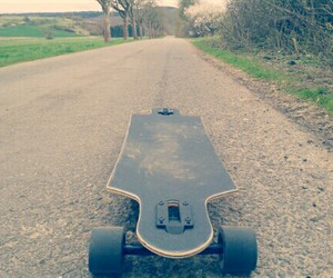 baby, freedom, and longboard image
