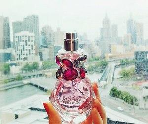 city, perfume, and pink image