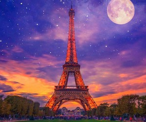 background, paris, and france image