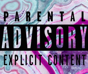parental advisory, wallpaper, and background image