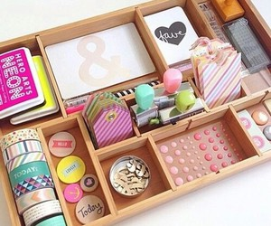 school, diy, and organization image