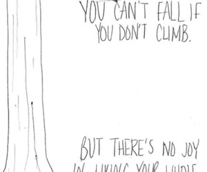 quotes, life, and climb image