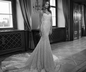 bridal, girl, and gown image