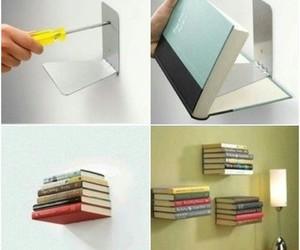books, creativity, and decoration image