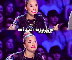 bully, demi lovato, and quote image