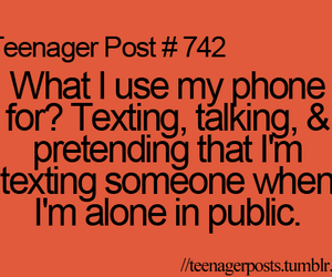 phone, post, and quote image