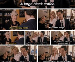 coffee, Elizabeth Banks, and funny image