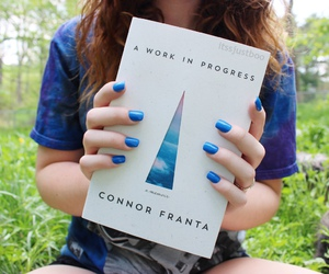 book, tumblr, and connor franta image