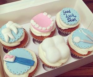 cake, cupcake, and teeth image