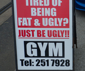 gym, funny, and ugly image