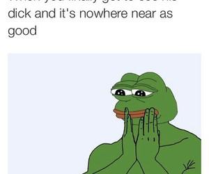 funny, meme, and pepe image