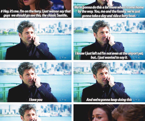 grey's anatomy, derek shepherd, and amelia shepherd image