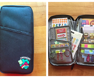 filofax, travel, and sticker image