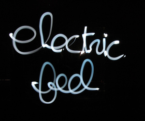 MGMT, electric feel, and light image