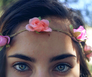 beautiful, exotic, and flower crown image