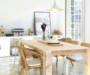 decor, room, and wood image