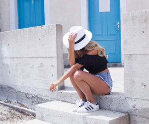 bikini, blonde, and shoes image
