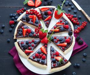 fruit, food, and pizza image