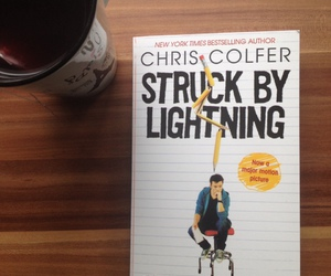 darren criss, chris colfer, and struck by lightning image